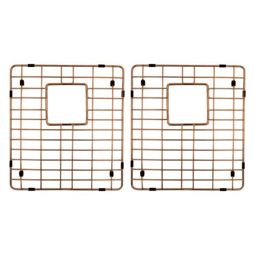Copper Sink Grid Set