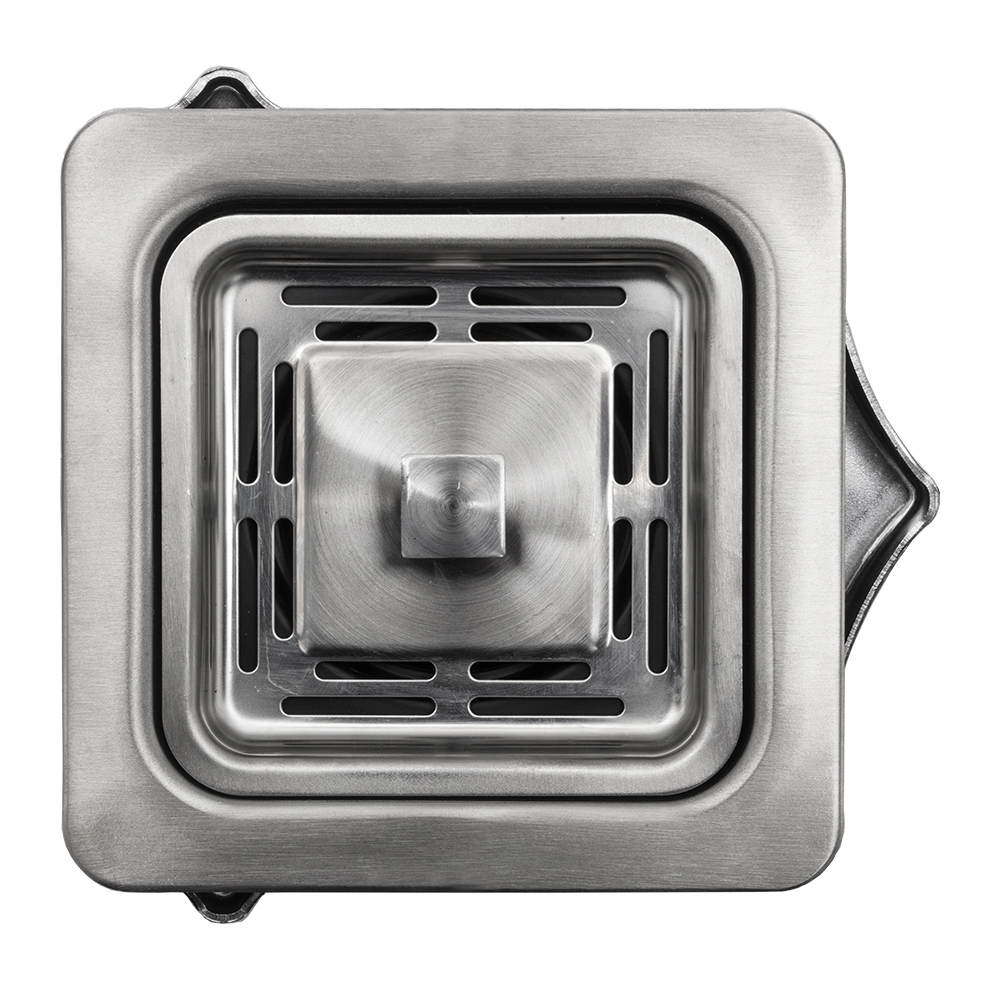 Square Drain for Garbage Disposal